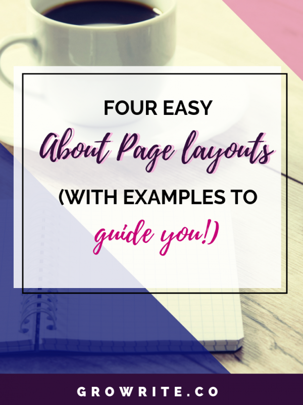 4 Easy About Page Layouts (With Examples To Guide You!)
