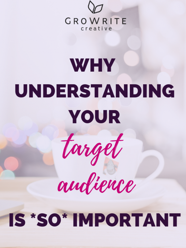 Why Understanding Your Target Audience Is SO Important