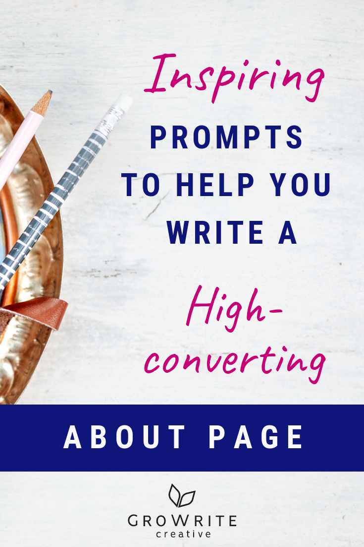 Inspiring prompts to help you write a high-converting About page