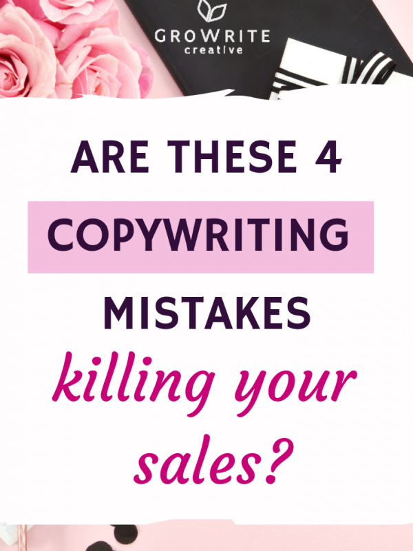 4 copywriting mistakes