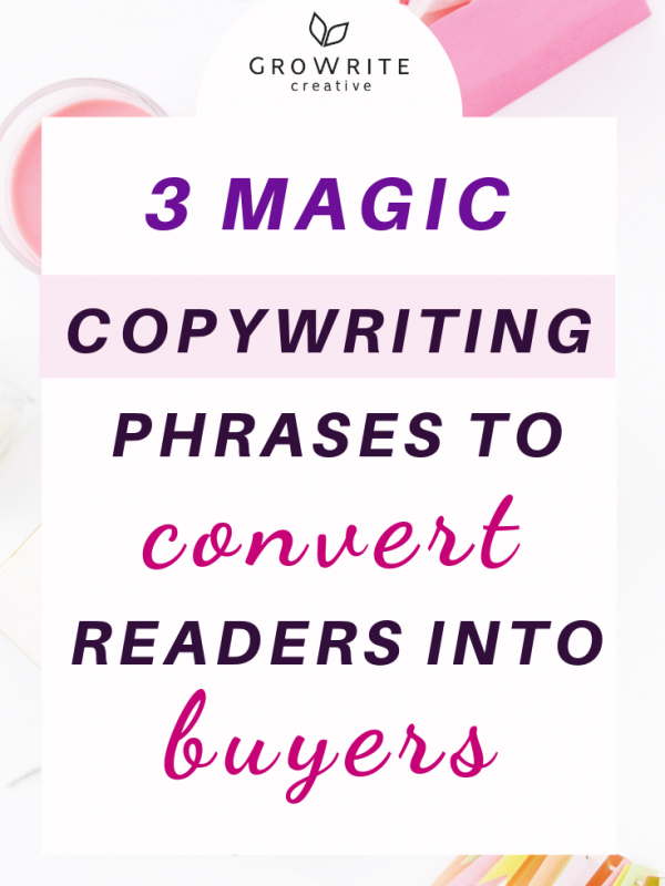 Copywriting phrases convert