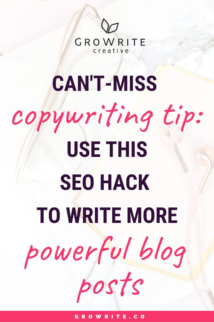 SEO blog posts